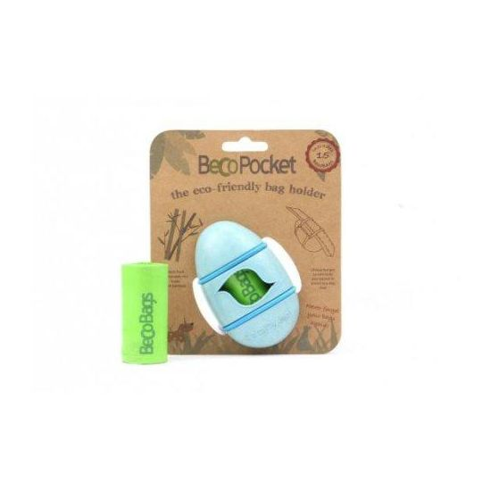 Becopets beco pocket blue Poepzakhouder