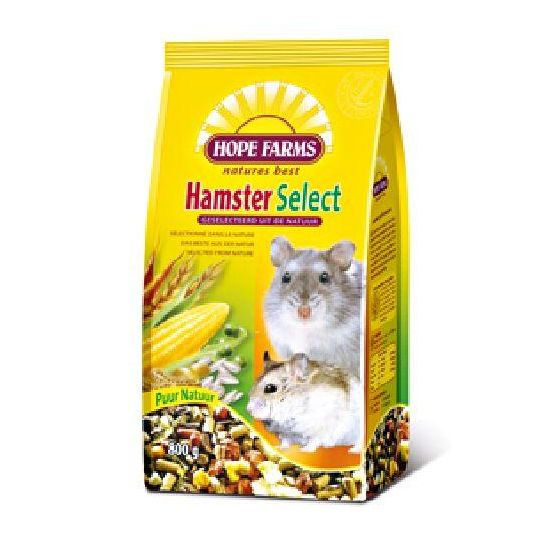 Hope Farms hamster select 800 gram Hamstervoer