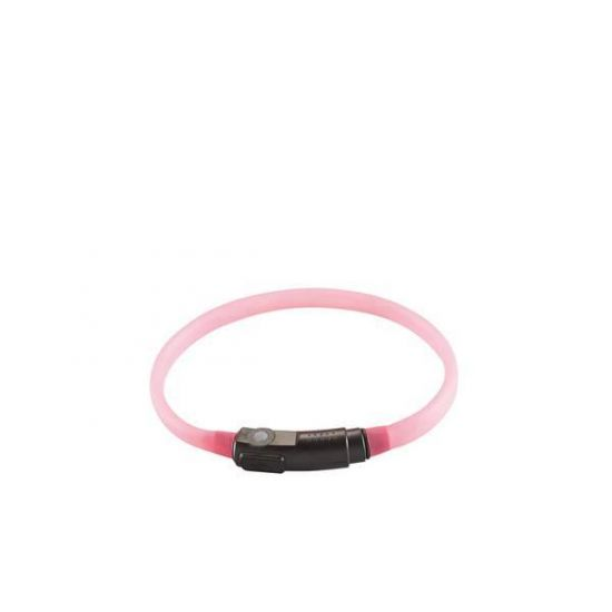 Hunter Yukon led light halsband 18-35 cm roze kat