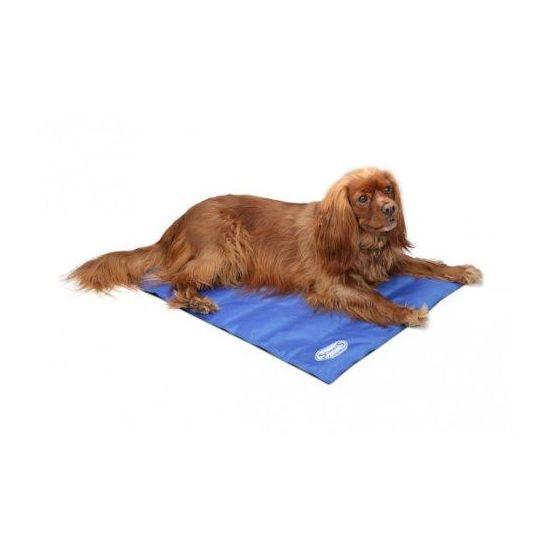 Scruffs cooling mat medium 77x62 cm blue